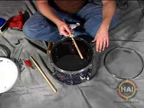 drum tuning tuning bottom head youtube. Black Bedroom Furniture Sets. Home Design Ideas