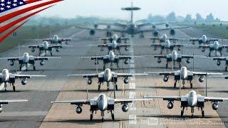 嘉手納基地が警戒レベルMAXで完全武装のF-15緊急出動訓練を行う:エレファント・ウォーク