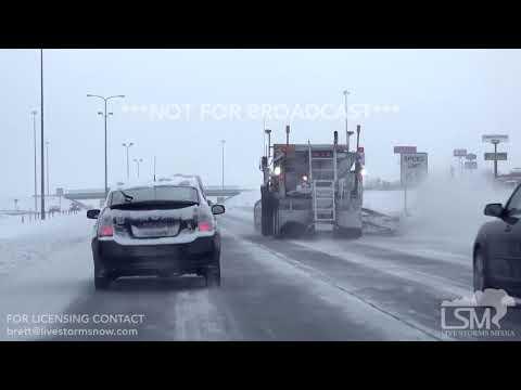 03-07-19 Rapid City, SD - Snowy Commute Vehicle Stuck
