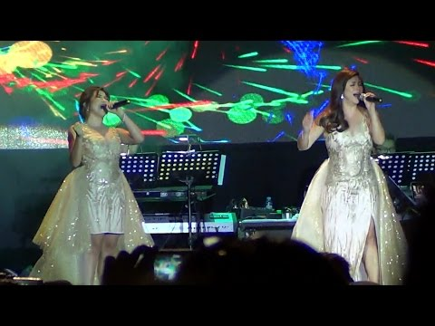 REGINE VELASQUEZ & ANGELINE QUINTO - Whitney Houston Medley (ROYALS: Waterfront Cebu)