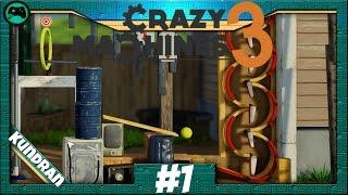 Ein Brett vorm Kopf | Crazy Machines 3 #1 | Let