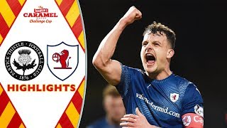Partick Thistle 1-2 Raith Rovers | Tunnocks Caramel Wafer Challenge Cup Semi-Final | SPFL