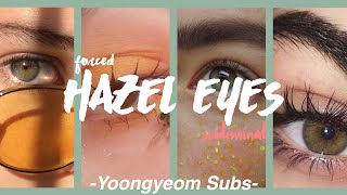 Forced Hazel Eyes {requested} ♂♀ thumbnail