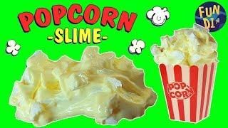 ХРУСТЯЩИЙ СЛАЙМ ПОПКОРН / DIY Popcorn SLIME / Новый рецепт