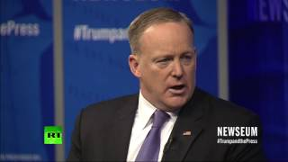 The Anne Frank Center has demanded US press secretary Sean Spicer b...