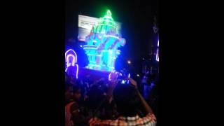 thaipusam 2014 batu caves light kavadi