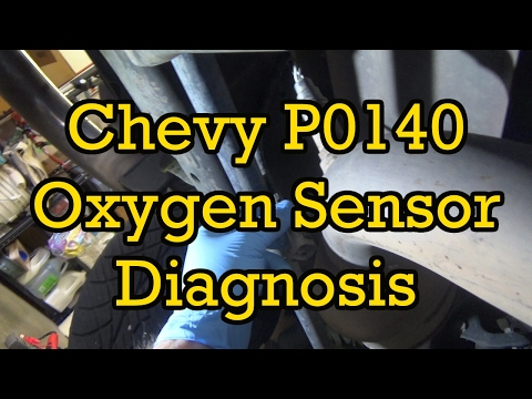 Chevy P0140 Oxygen Sensor (O2) Diagnosis And Replacement-Avalanche 2003 (2002-2006 Similar)