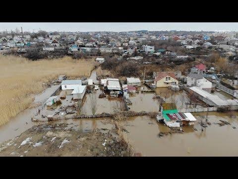 Паводок в Волгограде