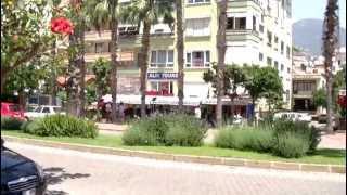 Alanya an schönen Kleopatra-Strand und Hotels von Lutz + Bine