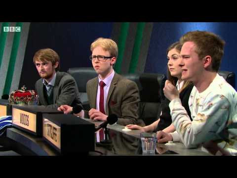 University Challenge S45E01 Glasgow vs Peterhouse -  Cambridge
