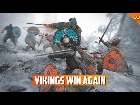 The Vikings Won the For Honor Faction War...Again