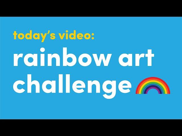 Spread Positivity with Rainbow Art | Visual Art | ArtistYear Create