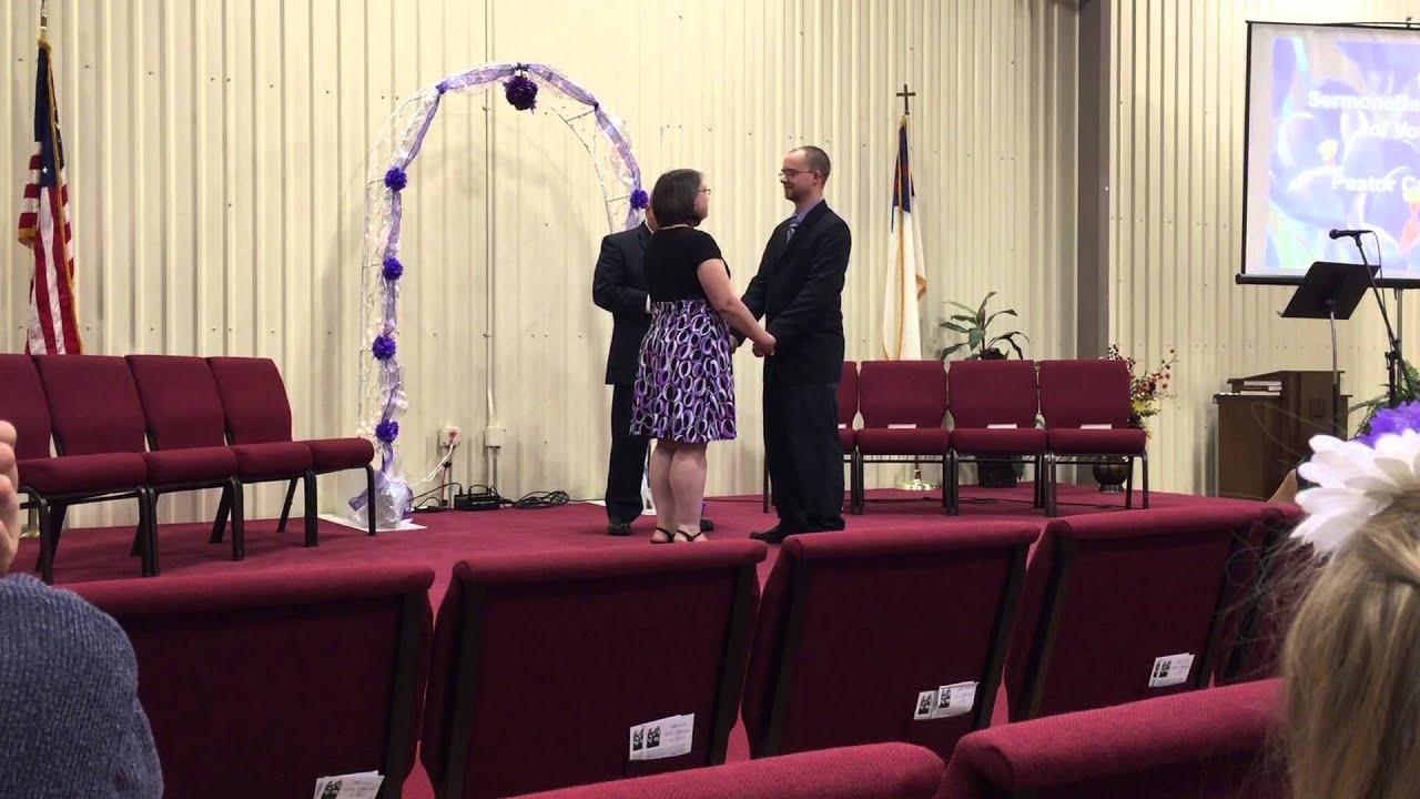 Renewing Of Wedding Vows For Gabriel Brandy Taylor Gurnee SDA Church