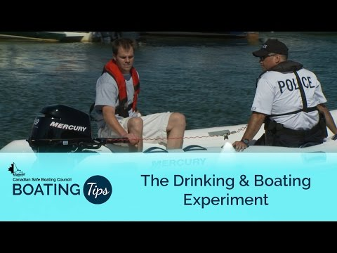 Drinking & Boating Experiment