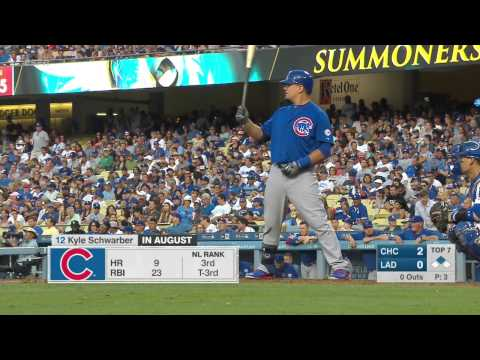 Los Angeles Dodgers   Chicago Cubs 30 08 15