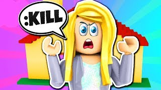 ANGRY GIRL RAGES AT ME! Roblox Admin Commands! Roblox Trolling! Roblox Kohls Admin House