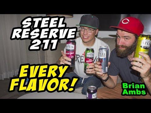 Steel Reserve 211 Taste Test: Brian Ambs