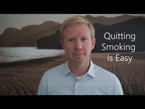 Quitting Smoking is Easy