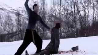 Момент из фильма 'Операция мертвый снег'   'Operation Dead Snow'