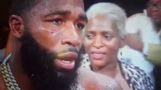 Adrien Broner calls out Floyd Mayweather after victory