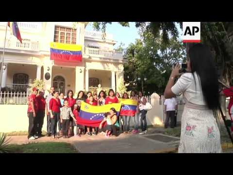 Venezuelans in New Orleans and Cuba cast their votes in presidential election