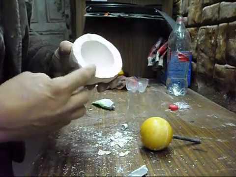 Как сделать форму для литья полиуретана И залить чудо шар