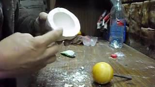 Как сделать форму для литья полиуретана И залить чудо шар(Интересное видео,для тех-кому все интересно., 2015-10-21T16:15:36.000Z)