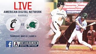 2019 American Baseball Championship: No. 2 Cincinnati vs. No. 3 Tulane
