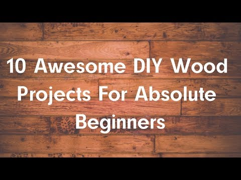 TOP 10 Awesome DIY Wood Projects For Absolute Beginners I Woodworking Quick Tips