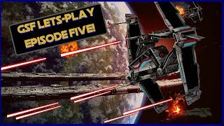 GSF Let's Play #5! SWTOR Galactic Starfighter Space PVP!
