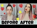 Valentine s Day Get Ready With Me   Makeup  Hair   Outfit