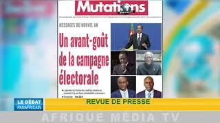 DEBAT PANAFRICAIN DESTABILISATION AFRIQUE CENTRALE DU 07 01 2018