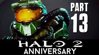 Halo 2 Anniversary Walkthrough Part 13 - GRAVEMIND (Mission 12) - 60fps