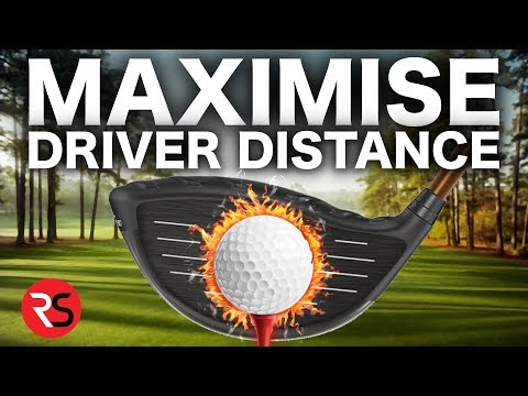 HOW TO MAXIMISE YOUR GOLF DRIVER DISTANCE – 3 SIMPLE TIPS!