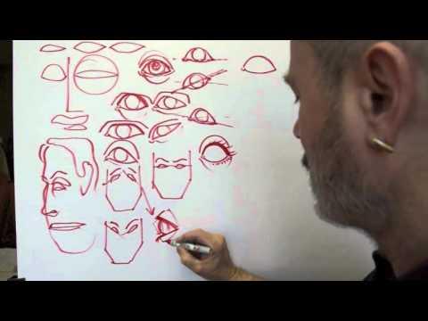 Drawing Eyes 1