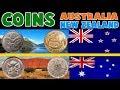 NEW ZEALAND AUSTRALIA COINS