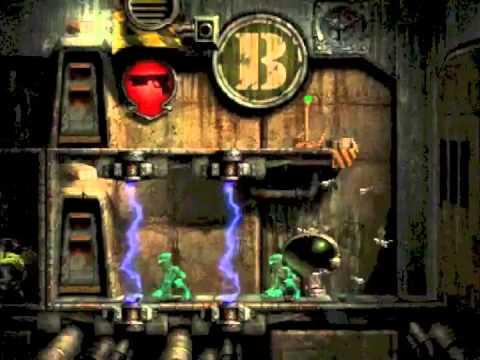 Oddworld: Abe's Exoddus PSX Playthrough Part 6 (Slig Barracks)