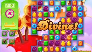 Candy Crush Jelly Saga Level 1665 (No boosters)