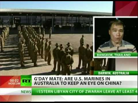 China watches US military buildup in Australia
