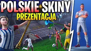 POLISH SKINS! -PRESENTATION OF FOOTBALL SKINS FOR THE WORLD CHAMPIONSHIPS | Fortnite Battle Royale