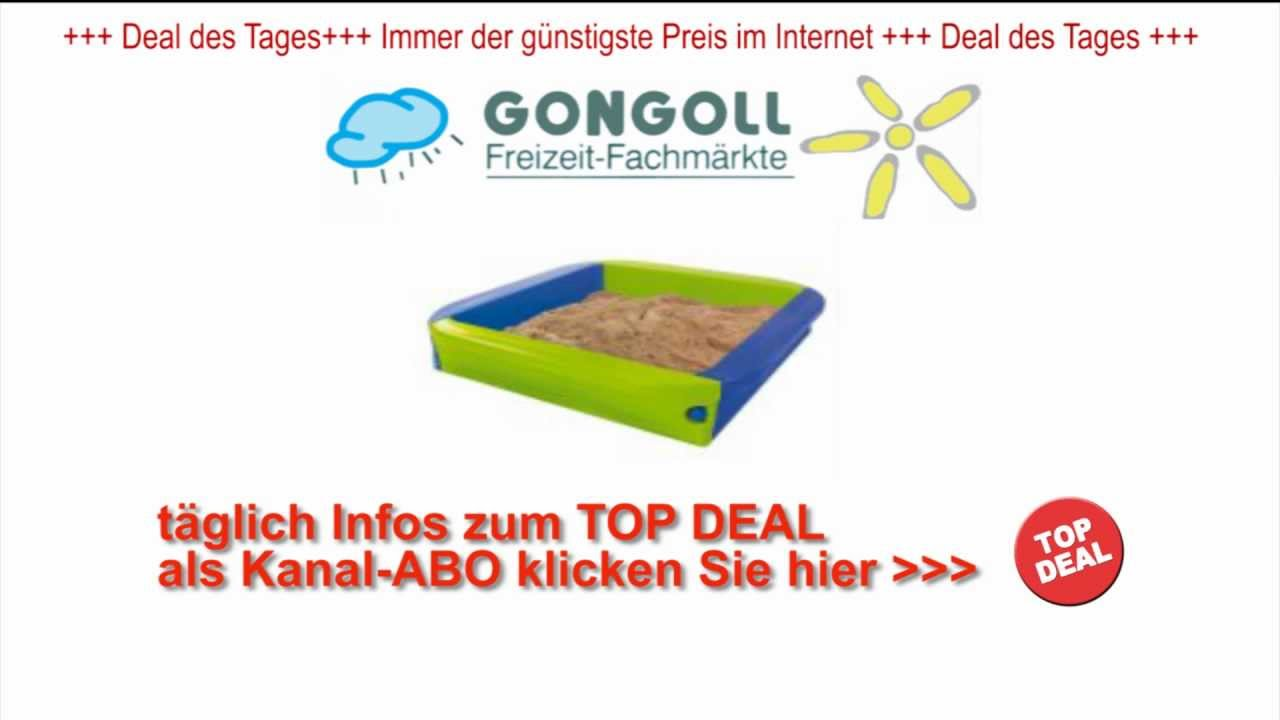 bic sandpit sandkasten der gongoll deal des tages. Black Bedroom Furniture Sets. Home Design Ideas