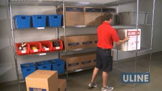 Uline Wire Shelving