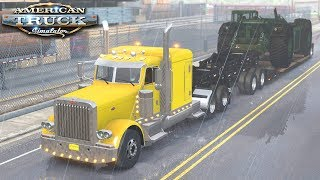 Deszczowa trasa - American Truck Simulator | (#36)