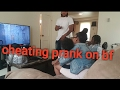 Cheating prank on boyfriend!!!!(he left)