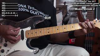 ROUNDABOUT Yes Guitar Chords & Strumming Lesson Video #2  TABS @EricBlackmonGuitar