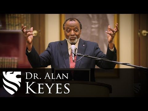 Why Human Equality Only Makes Sense Under God | Dr. Alan Keyes | SNC 2017