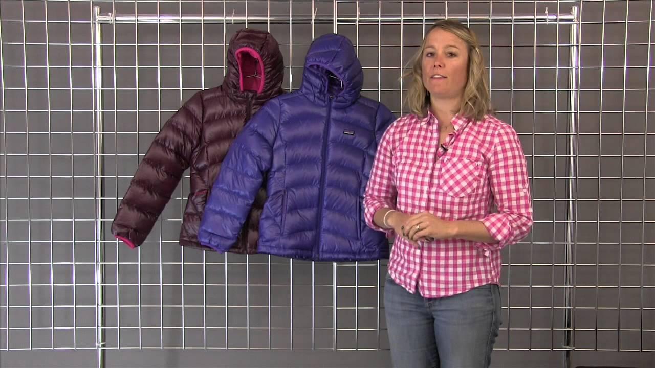 Patagonia Girls Hi Loft Down Jacket 2014 2015 Youtube