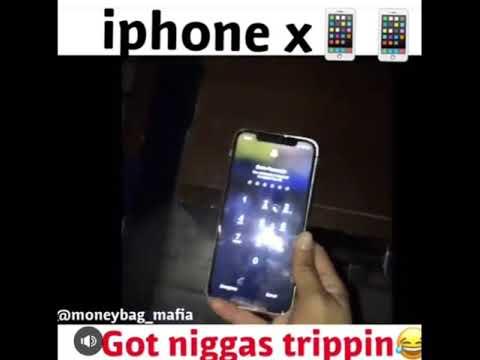 When Yo Girl Try To Break Into Yo Phone But U Got The iPhone X