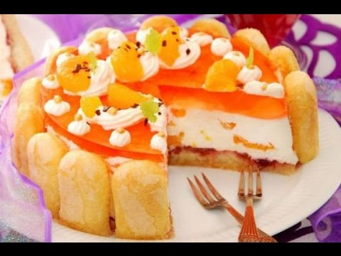 Kedidili İle Franbuazlı Pasta