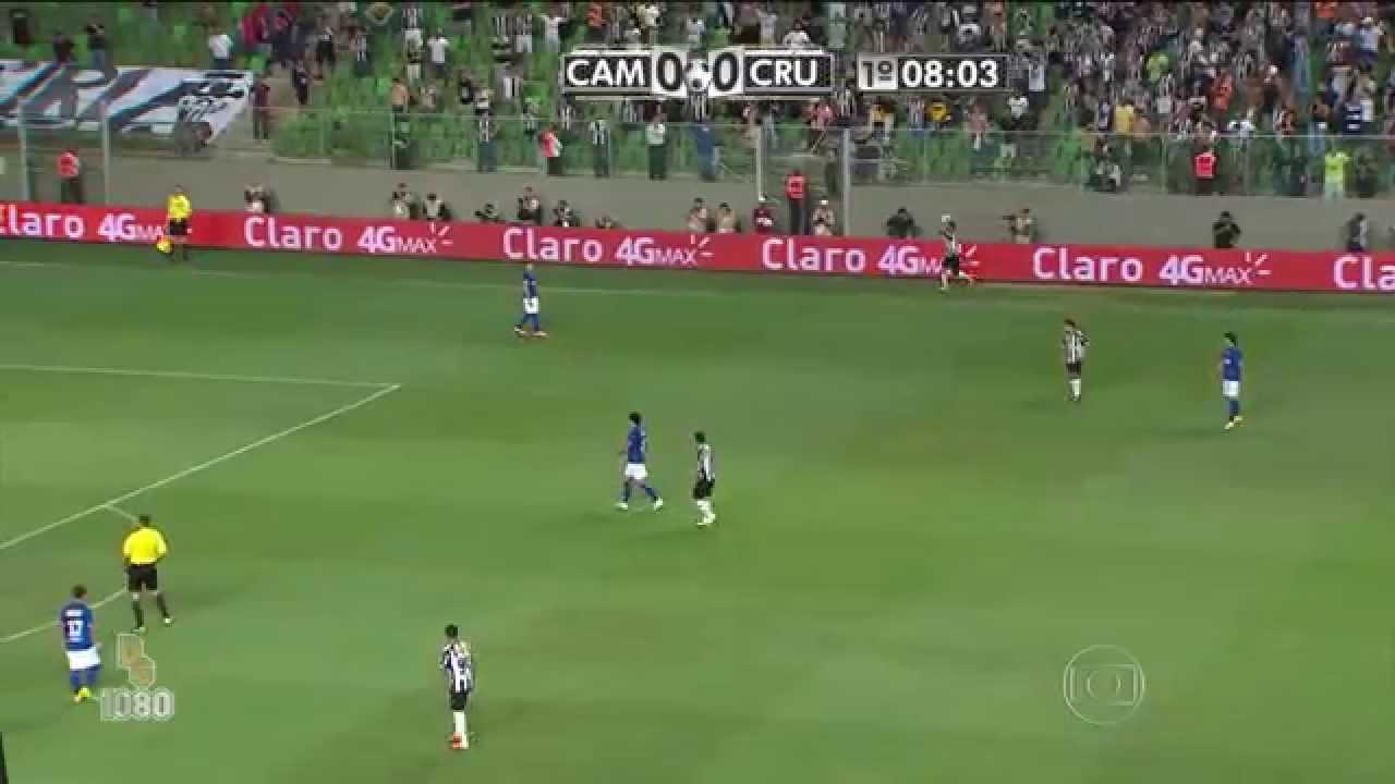 3e99b57df7 Gols Atlético-MG 2 x 0 Cruzeiro - Copa do Brasil 2014 - Globo HD ...